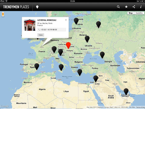 TrendyMen Places для iPad